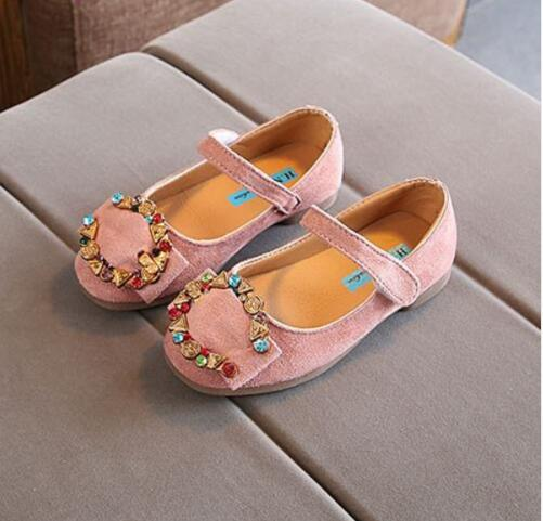 Spring Autumn New Diamond Antiskid Childrens Fashion Casual Shoes Girls Princess Shoes Non-slip Shoes For Kids