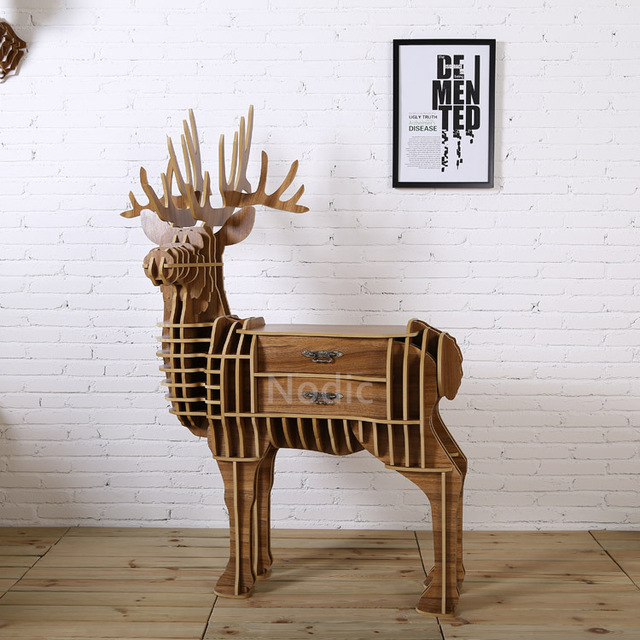 Tavolo cervo con cassetto per la moda morden soggiorno, fai da te ...