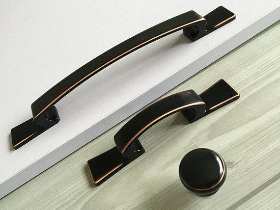 black ceramic kitchen cupboard knobs promotion-shop for