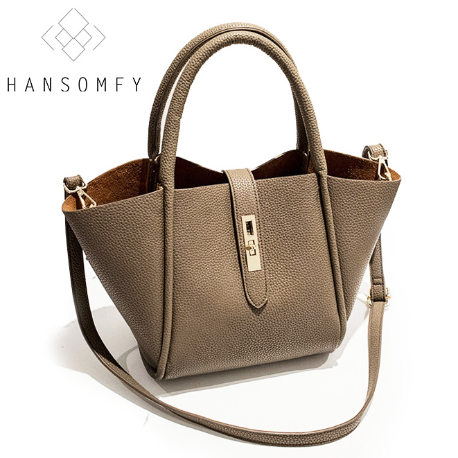 цена на Fashion ladies women bag Split leather Hasp Trapeze brand bags handbag crossbody single shoulder bags casual style