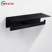 Thick Kitchen Paper Holder Refrigerator Cling Film Storage Rack Wall Mounted Roll Paper Towel Rack