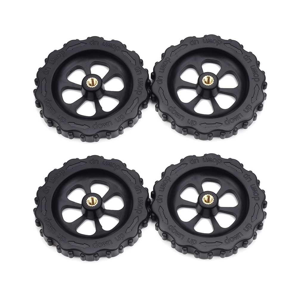 4pcs M4 Upgraded Big Hand Twist Auto Leveling Nuts For Creality CR-10 CR-10S Ender 3 A8 3D Printers Heatbed Parts