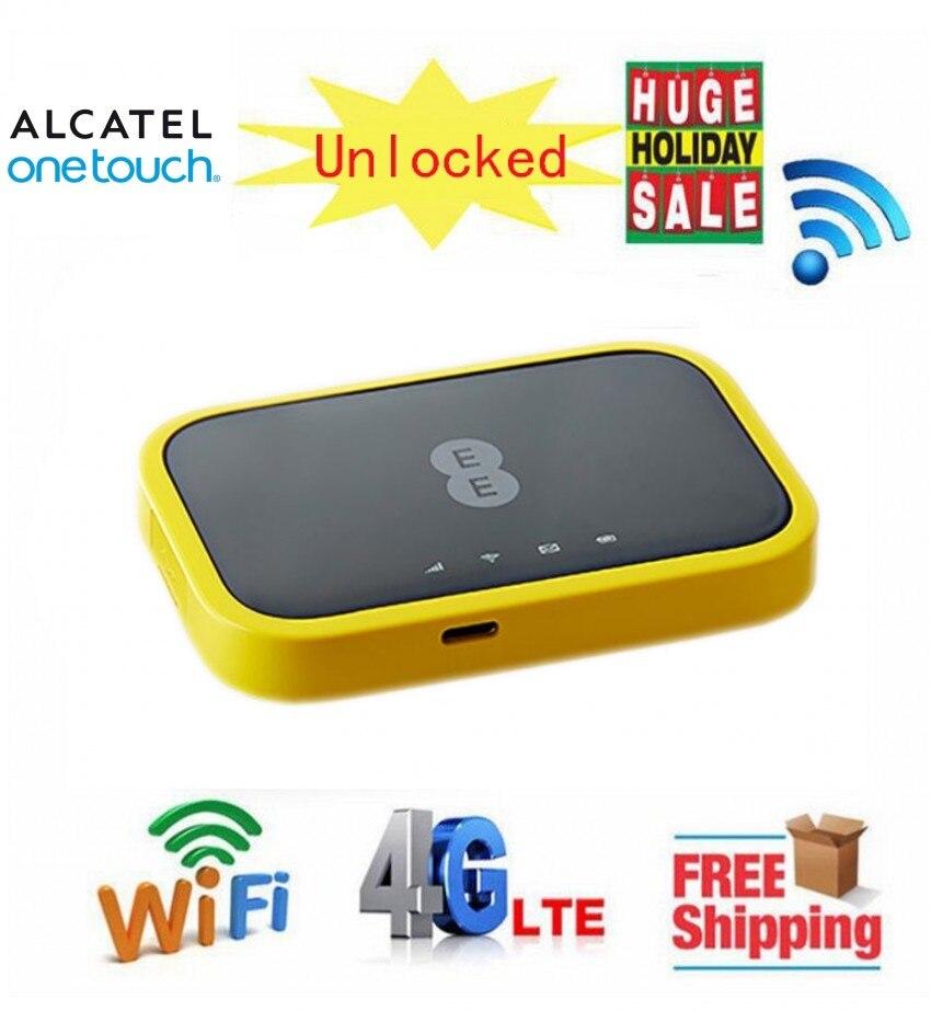 Unlocked Alcatel EE120 Cat12 600Mbps Portable 4300mAh Battery 4G LTE Mobile  WiFi Hotspot Modem PK AC790S 810S E5786S E5788