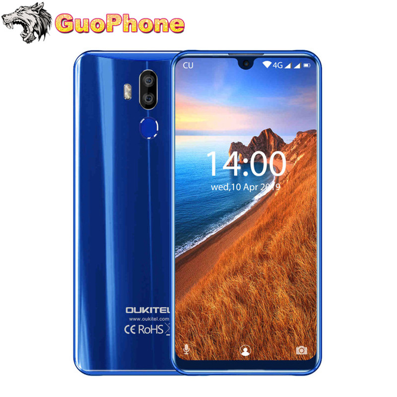 OUKITEL K9 Android Mobile Phone 7.12' Waterdrop 4GB 64GB Octa Core Android 9.0 <font><b>6000mAh</b></font> 16MP 8MP 5V/6A Quick Charge <font><b>Smartphone</b></font> image