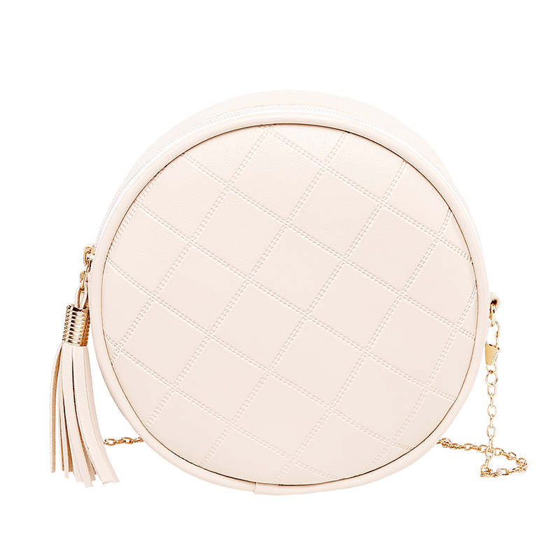 Designer Bags Famous Brand Women Bags 2019 Fashion Women Round Chain Bag Pu Leather Shoulder Crossbody Handbag Messenger