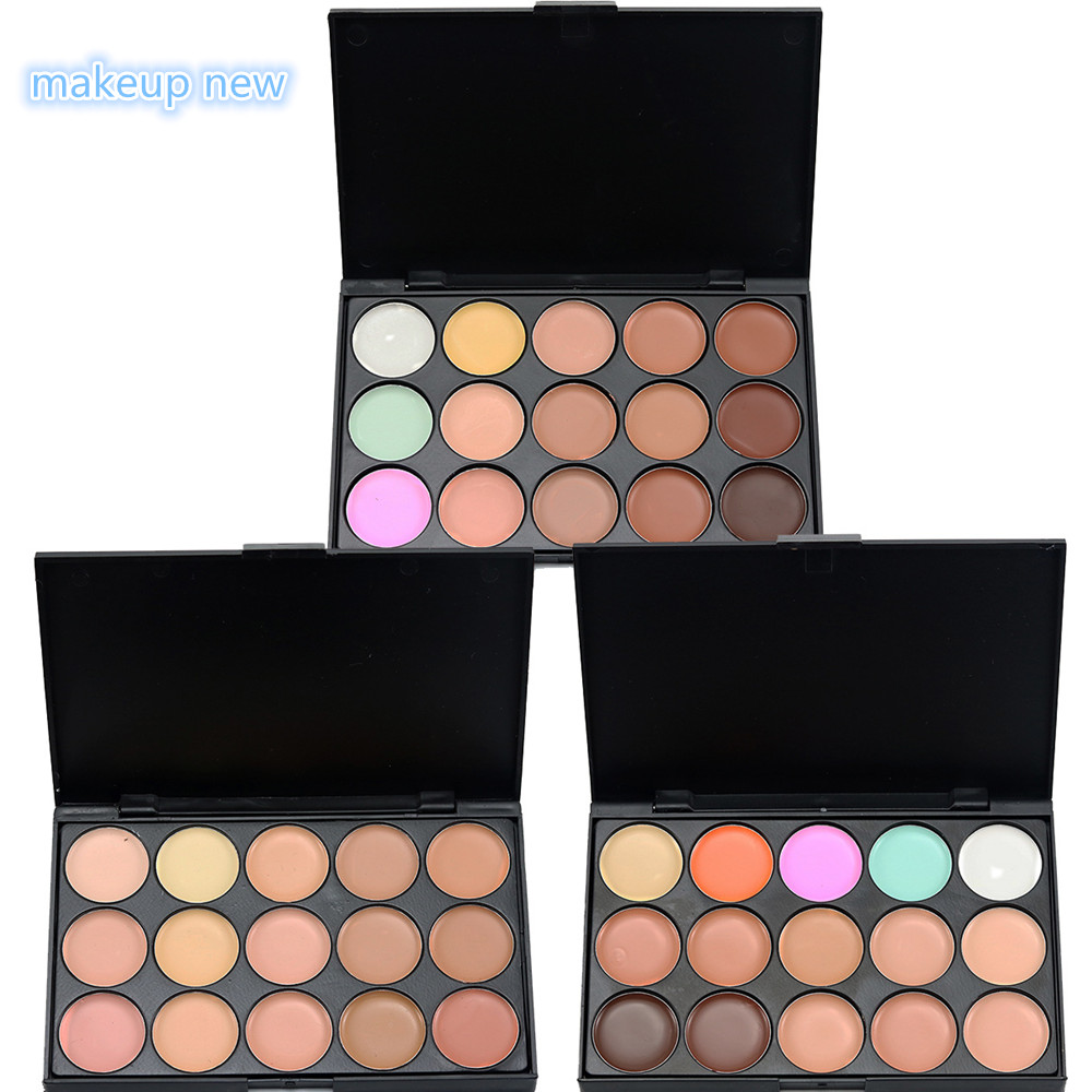 US $2.0 |Professional Makeup Concealer Palette 15 Color Facial Face Cream Care Camouflage Makeup base Palettes Cosmetic Foundation in Face Foundation