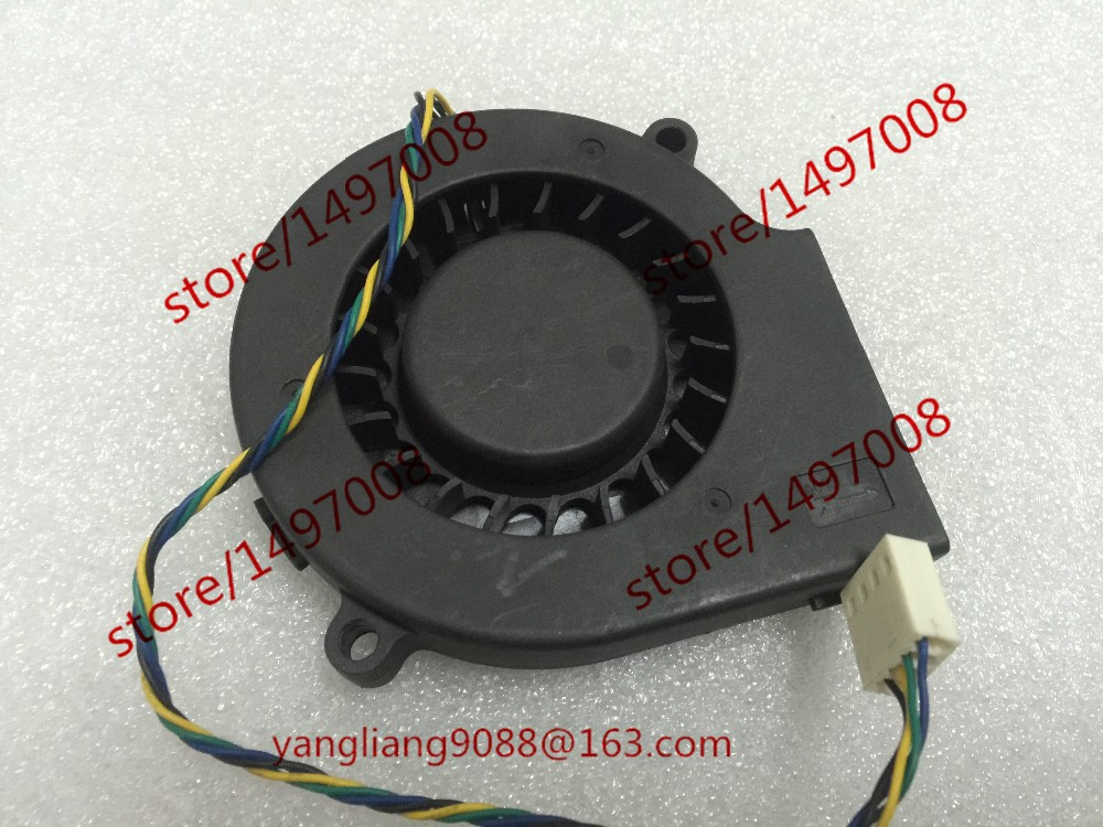 купить  Free Shipping For EVERFLOW BB7515BU DC 12V 0.80A 4-wire 4-Pin connector 70mm Server Blower Cooling fan  онлайн