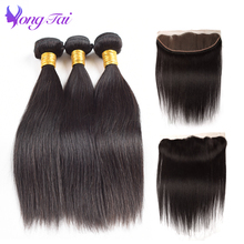 hot deal buy straight hair bundles with closure indian hair bundles with closure yuyongtai hair human hair extension 3 bundles with 1 closure