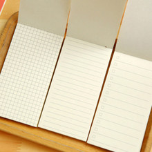 1pcs/lot 135mmx70mm Simple cowhide small notebook plan bookmark Diary Notebook Stationery(China)