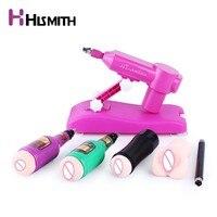 Hismith закачки воды секс машина для женщин мощный Thrusting Насосное Gun фаллоимитатор машина многоскоростной секс игрушки для взрослых
