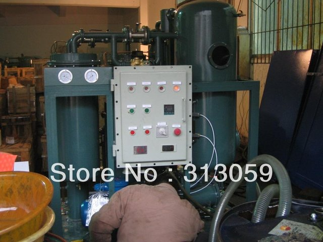 oil purifier machine for seriously emulsified turbine oil series TY/oil filtration,oil purifier,gas turbine oil recycle