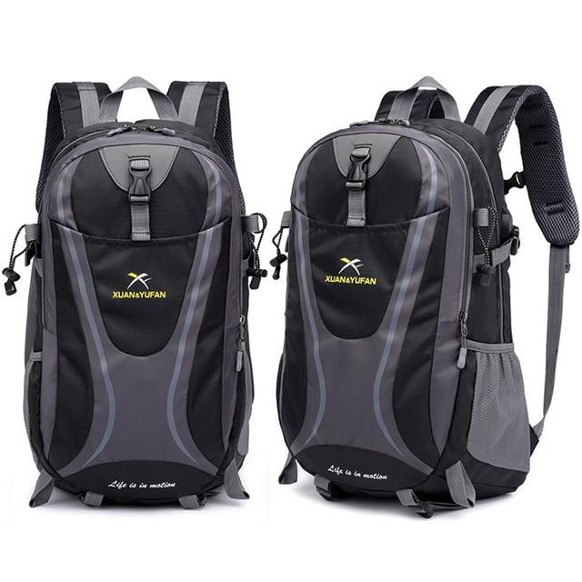 35L Männer Nylon Wasserdicht Unisex Outdoor Bergsteigen Wandern Klettern Camping Rucksäcke sport Unisex taschen reisetasche für männliche