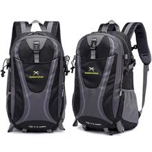35L Men Nylon Waterproof Unisex Outdoor Mountaineering Hiking Climbing Camping Backpacks sports Unisex bags Travel bag for male