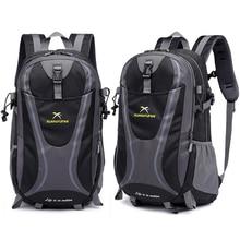 35L erkekler naylon su geçirmez Unisex açık dağcılık yürüyüş tırmanma kamp sırt çantaları spor Unisex çanta seyahat çantası erkek