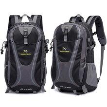 35L hommes en Nylon imperméable unisexe en plein air alpinisme randonnée escalade Camping sacs à dos sport unisexe sacs sac de voyage pour homme