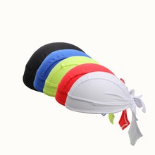 hat Headbands Scarf 2018 Summer Men Women Bandana Scarf bike cap Pure color Bicycle  Scarf hat pure color knitted infinity scarf