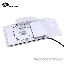 Backplate Bykski Water-Block ASUS ROG Light/compatible Strix-Rtx2080ti-O11g-Gaming/full-Cover