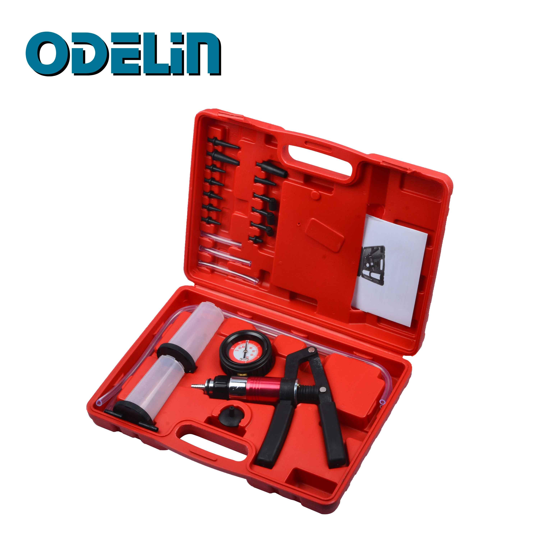 Hand Held Vacuum Pump Brake Bleeder Bleeding Diagnostic Tester Tool SetHand Held Vacuum Pump Brake Bleeder Bleeding Diagnostic Tester Tool Set