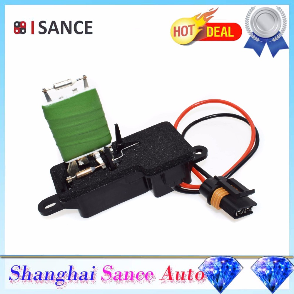 ISANCE вентилятор отопителя Вентилятор Мотор резисторный регулятор 89018436 для Chevrolet Astro GMC Safari 1996 1997 1998 1999 2000 2001 2002-05