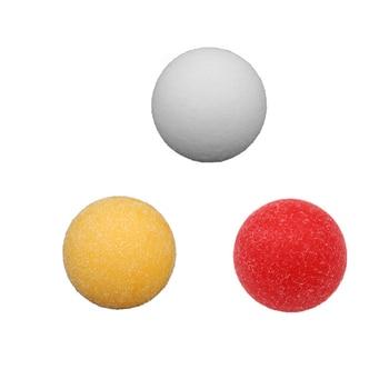 "1pcs 36mm 1.42"" roughened surface Football table soccer table ball Green Plastics football balls baby foot fussball"