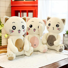 New Arrival Style Lovely Cat Soft Plush Toy Down Cotton Stuffed Animal Cats Doll Childrens Gift