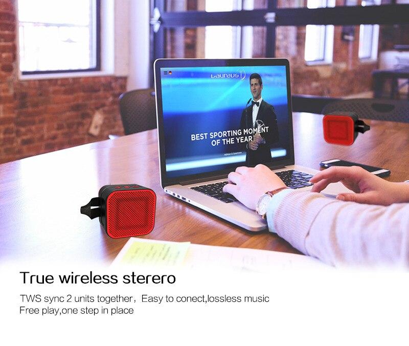 Gute 2019 extérieur étanche Bluetooth haut-parleur mode radio FM TF carte téléphone PC puissant portable sans fil haut-parleur mini xtr tod - 2