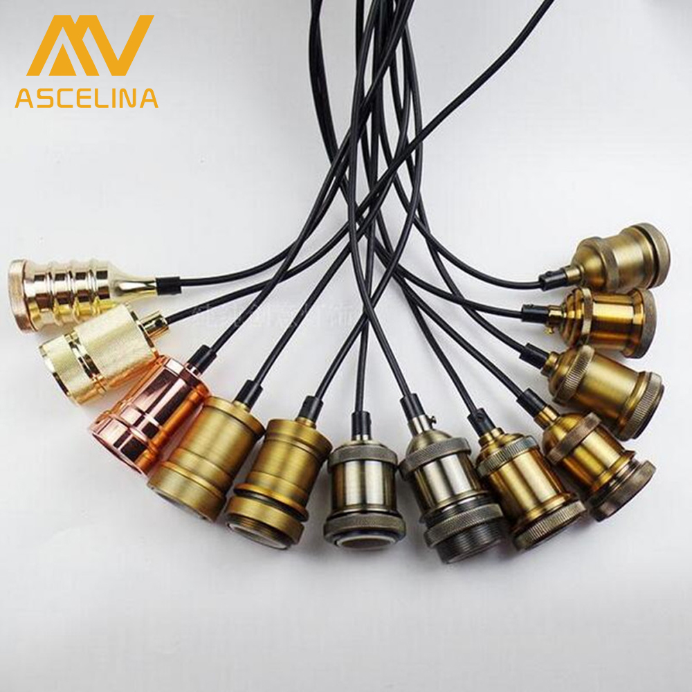 Aluminum Pendant Light lamp base E27 Lamp holder for 110V 220V led Incandescent Edison bulb Vintage Retro decor hanging Lamp hot sale air compressor cylinder head piston air compressor head piston air compressor head