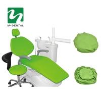 4 Pcs Set High Elastic Dental Unit Covers Dental Chair Seat Cover Protective Case Set Seat