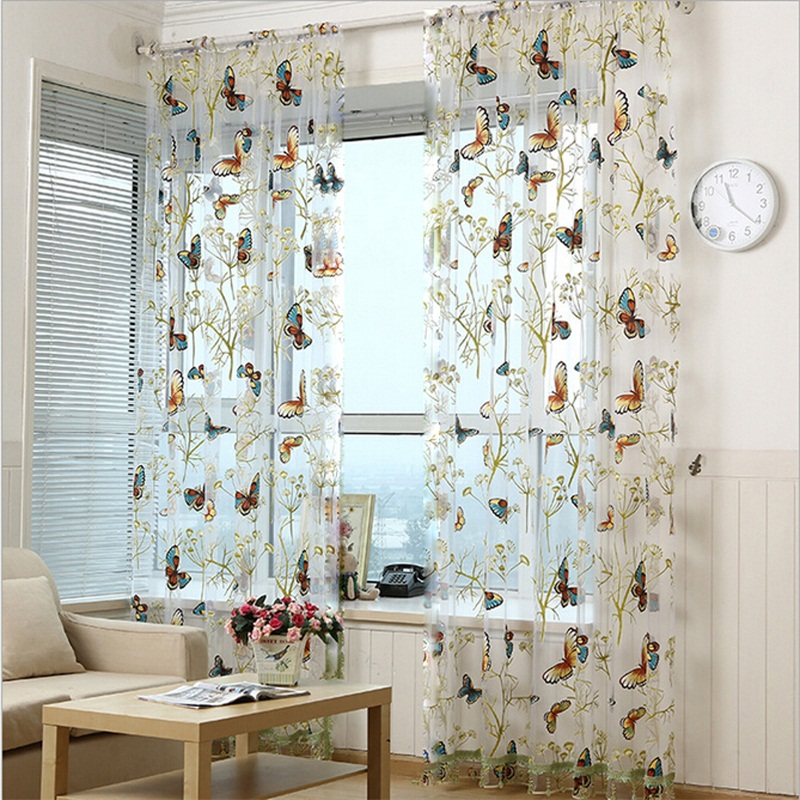 Sheer Bedroom Blinds