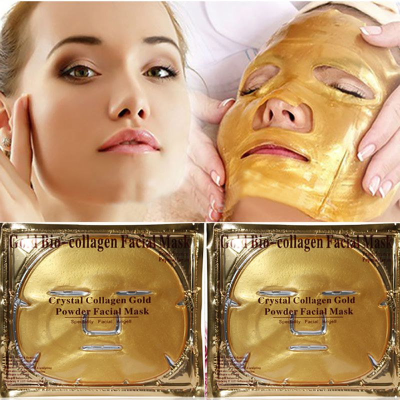 60g Gold Bio-Collagen Peel Facial Face Mask Anti-Aging Whitening Hydrating Repair Skin New H1