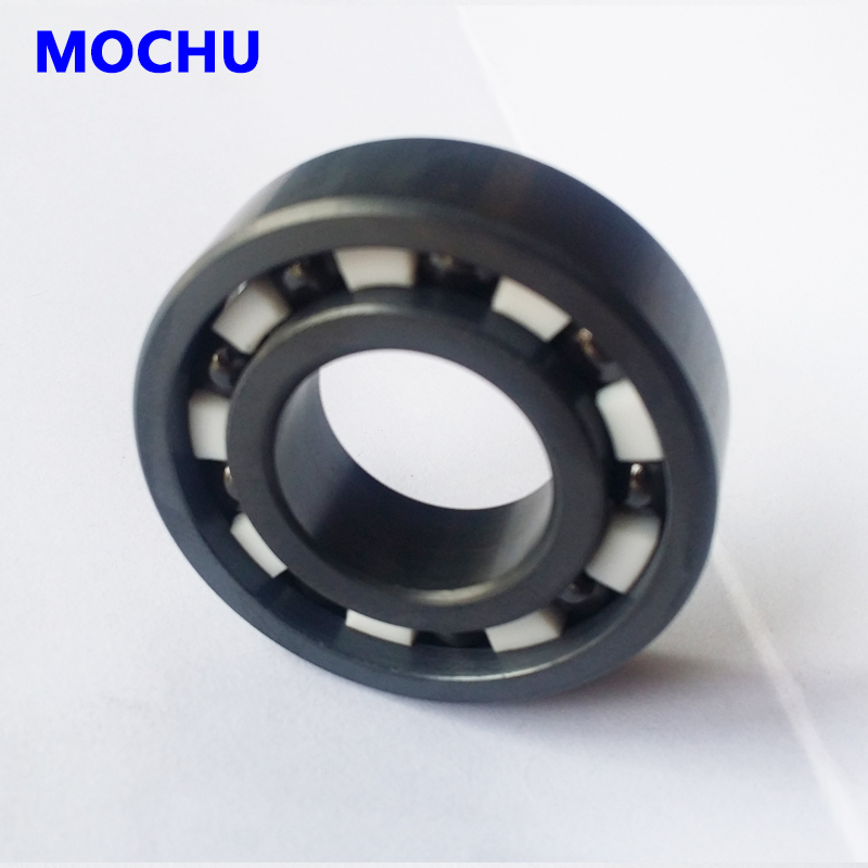 1PCS Bearing 608 Full Ceramic Silicon Nitride Skate Bearing 8x22x7 Si3N4 Miniature Ball Bearings 8*22*7 8mm Full Ceramic Bearing 20mm bearings 6004 full ceramic si3n4 20mmx42mmx12mm full si3n4 ceramic ball bearing