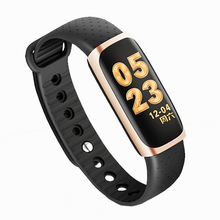 X1 Smart Wristband Fitness Tracker Waterproof Bluetooth Sport Smart Bracelet Blood Pressure Watch Color Screen Information Push
