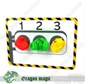 Stage Traffic Lights Include 3 Scarf Eragon Stage Magic Tricks Magia Toys Wholesale Retail