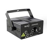 Led puntatore laser illuminazione della fase 5 lenti 80 modelli rg mini led proiettore laser dj party mostra luce della fase rosso verde blu FULI