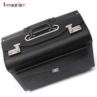 Обновленный багаж на колесиках, Дорожный чемодан сумки, Бортпроводники коробка с сумкой для ноутбука, унисекс пароль чехол для переноски