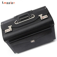 Upgraded Cabin Rolling Luggage,Travel suitcase bags,Flight attendants Box with laptop bag,Unisex Password case Carry On