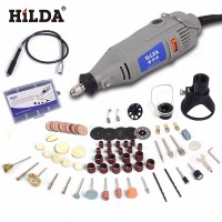 HILDA 220V 150W With 99pcs Accessories Electric Rotary Tool Flexible Shaft Power Tools Variable Speed Mini
