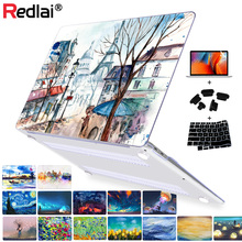 Starry Night Laptop bags For Macbook 2016 Pro 13 Retina A1706/A1708 Cover Hard Cover For Mac book Pro 15 A1707 Touch Bar Case starry night oil painting sleeve for air 11 12 13 pro 13 15 retina crystal clear hard back cover protective case touch bar a1706