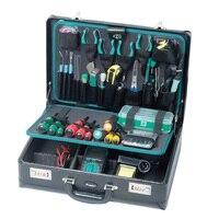 Pro'skit 1PK 1305NB 42 шт. профессиональный многофункциональный ремонт электроприборов Наборы инструментов коробка для технического обслуживания О