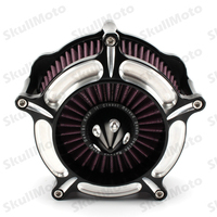 UNDEFINED Air Filter Cut Turbine Cleaner Motorcycle For Harley Sportster Iron 883 XL1200 1991 1992 1993 1994 1995 1996 1997 2016