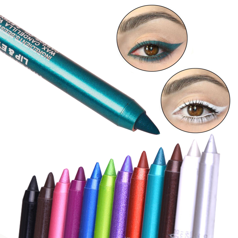 Beauty Essentials The Cheapest Price Manooby Matte Eyeliner Eyes Makeup Delineador Waterproof Liner Pour Yeux White Blue Eye Liner Liquid For Party Mat Eyeshadow