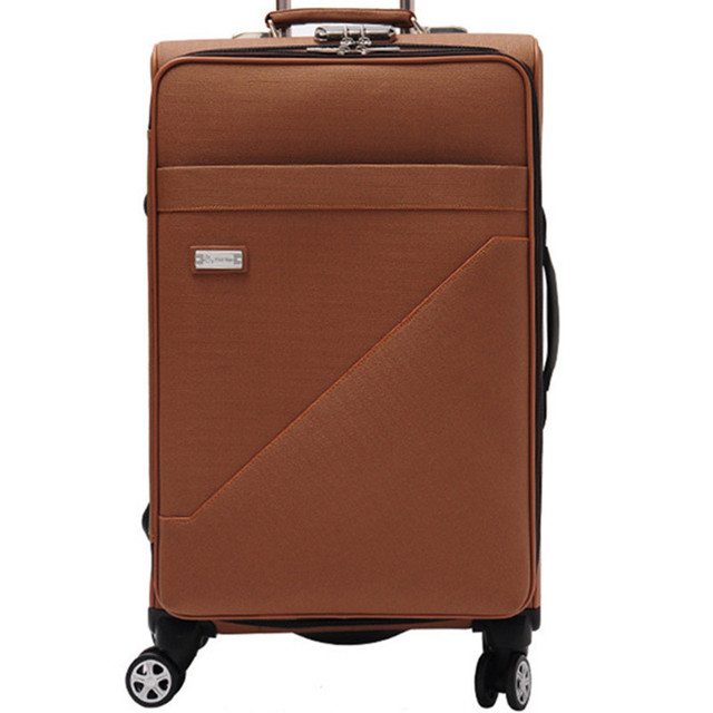 BOLO BRAVE High Quality Luggage mat 20 24 Inch Commercial Leather Trolley Suitcase bags Computer Travel Trolley bag Suitcases
