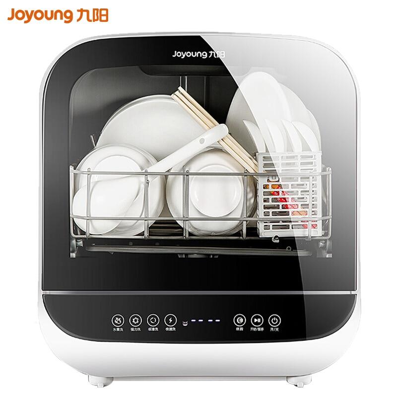 Joyoung Full Automatic X6 Desktop Free Install Mini Dishwasher Fruits Washing X6 Electronic Dish Dryer Disinfection Dropshipping