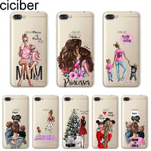 ciciber Capa For ASUS ZenFone Live L1 V 3 GO Zoom S For ASUS ZenFone MAX Lite Plus Pro M1 LI Phone Case TPU Girls Baby Mom Girl(China)