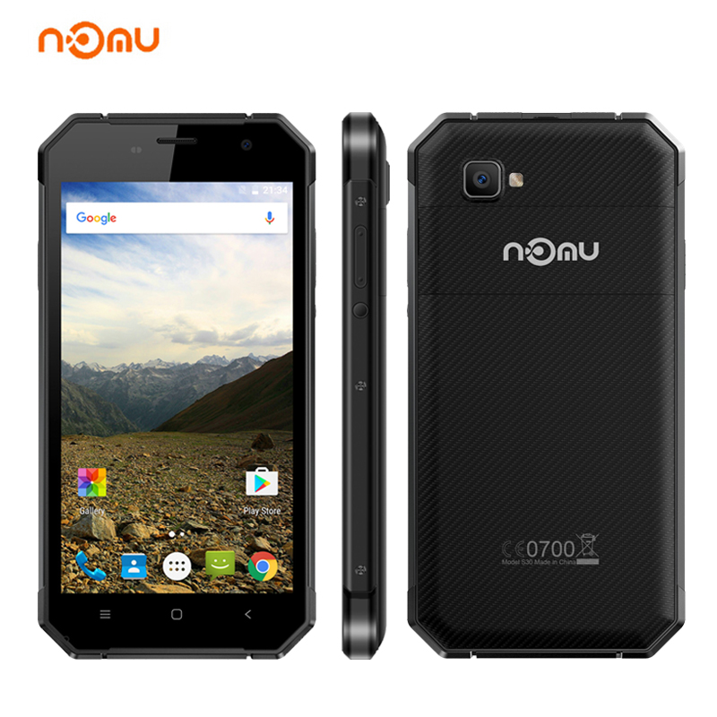 NOMU S30 5 5 4G LTE Smartphone Android 6 0 4G 64GB MTK6755 Octa Core 13MP