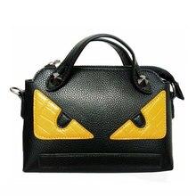 2017 bolsos de moda mini mujeres messenger bags eye monstruo bolsos de las mujeres famosas marcas de bolsos de diseño pequeño bolso femenino