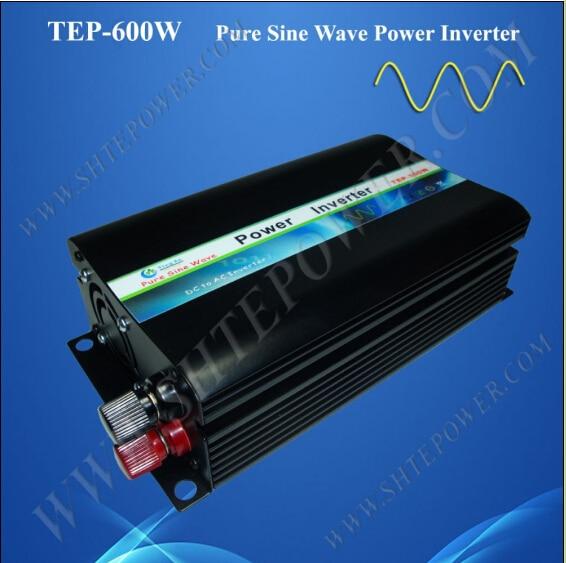 DC to AC 24v 220v 600w pure sine wave off grid inverter dc 48v to ac 110v 220v 230v off grid pure sine wave inverter 600w