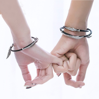 LoL Rakan And Xayah couple bracelet jewellery silver 925 bracelet lovers bracelets gift for girlfriend boyfriend women jewelry