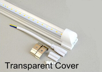 FedEX Free shipping led fluorescent 18W 1200MM T8 LED Tube Light fixture High bright SMD2835 25LM/PC 120led/PC 2200LM AC85-265V