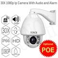 1080 P 25fps 8 Ик ВИДЕОНАБЛЮДЕНИЯ, КУПОЛЬНЫЕ ip-камеры купола день Ночь Vison Зум 30X Объектив CCTV Безопасности Видео Наблюдения PTZ